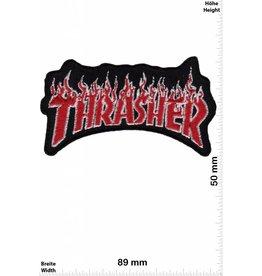 Thrasher Thrasher - rot silber - rot silber- Skateboard - Skater - Wheels - Extremsport - Skater