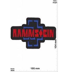 Rammstein Rammstein - big - 19 cm - red -blue
