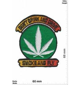 Marihuana, Marijuana Dont Drink and Drive - Smoke and fly - Marihuana - Hanf - Gras - Dope - Fun