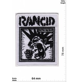 Rancid Rancid - weiss back - schwarz weiss
