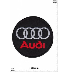 Audi Audi rot/silber rot/silber - rund - Motorsport