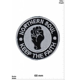 Northerm Soul Northern Soul - Keep the Faith - silber - rund