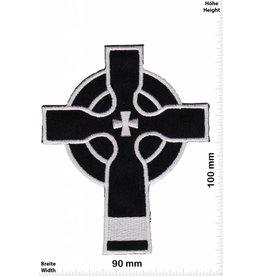 Kreuz Kreuz - Crucifix - Kelten - schwarz - silber