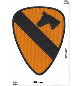 1st Cavalry 1st Cavalry Divison Horse - Pferd Army - US Army HQ