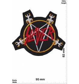 Slayer Slayer - pentagram - Thrash-Metal-Bandpatch HQ