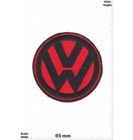 VW,Volkswagen VW - Volkswagen -rot schwarz - rot schwarz - Patch