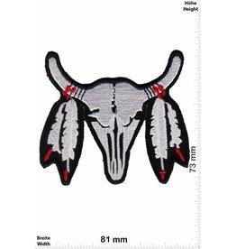 Indianer Indianer Büffel Schädel