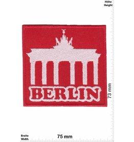 Deutschland, Germany Berlin - Brandenburger Tor- rot- silber