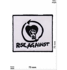 Rage against the machine Rise Against - schwarz weiss -Punk/Hardcore-Band