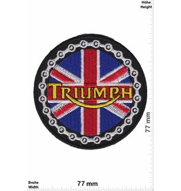 Triumph Triumph - UK - round- Union Jack