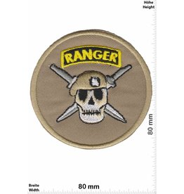Army Ranger - rounf Skull