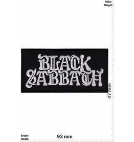 Black Sabbath Black Sabbath - silber black -Heavy-Metal-Band
