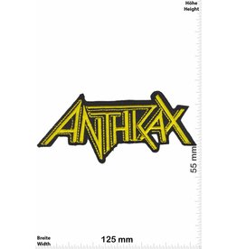 Anthrax  Anthrax - yellow -Metal-Band