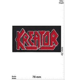 Kreator Kreator - red silver -Thrash-Metal-Band