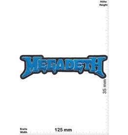 Megadeth Megadeth - blue - HQ - Metalband
