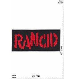 Rancid Rancid - red -Punkband