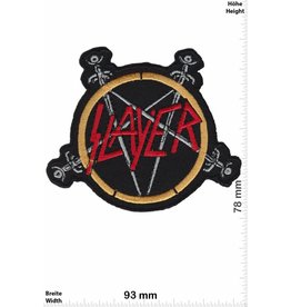 Slayer Slayer -pentagram - Thrash-Metal-Band