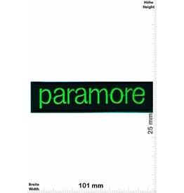 Paramore Paramore - neon green -  Alternative-Rock-Band