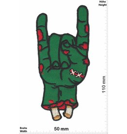 Zombie Zombie - Metal Sign - Pommesgabel