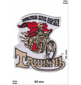 Triumph Triumph - The Action Guys Bike!