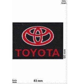 Toyota Toyota - schwarz rot