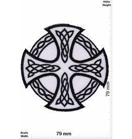 Celtic Celtic Cross - white