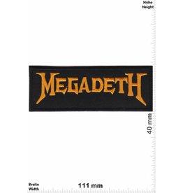 Megadeth Megadeth - gold
