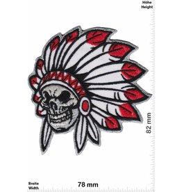 Indianer Indianer - Häuptling - Totenkopf - skull - small