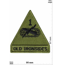 Army Old Ironsides - 1st Armored Division - HQ