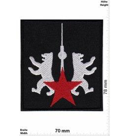 Deutschland, Germany Berlin - red star