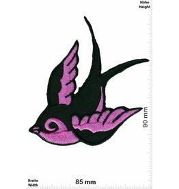 Vogel Patch - Vogel rechts - pink