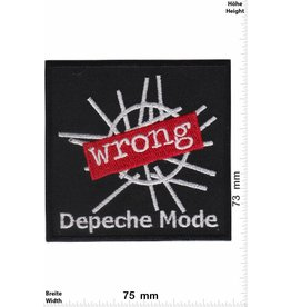 Depeche Mode Depeche Mode - Wrong -Synth-Rock- bzw. Synthie-Pop-Band