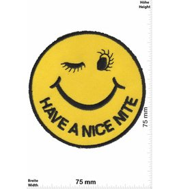 Smiley Smiley - Smilie - Have a nice Nite