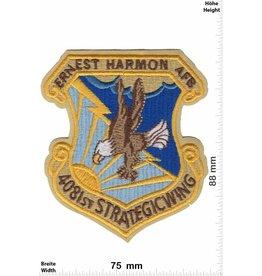 Army 4081st Strategic Wing - Ernest Harmon AFB - HQ