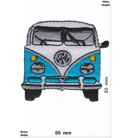 VW,Volkswagen VW Bully - blau - front