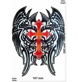 Angel Angel wings - wings - Angel - crucifix - 26 cm - BIG