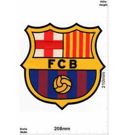 FCB Barcelona FCB - FCB Barcelona BIG - HQ 21 cm - Soccer - Spain   Football