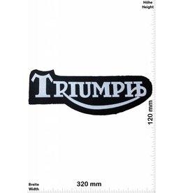 Triumph Triumph - schwarz silber - schwarz silber - 32 cm - Bigpatch  - Motorsport