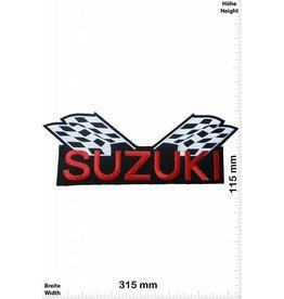 Suzuki Suzuki - Flag - Flaggen -  31 cm - Big