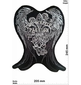 Angel two whelled Passion - Wings - 24 cm - BIG