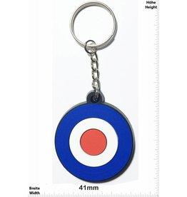 Vespa Vespa  - round- blue red