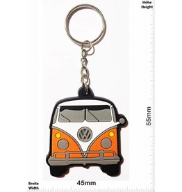 VW VW Bus - Bully - front - orange - vintage