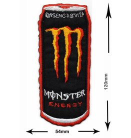 Monster Energy Drink M.  - Dose - rot