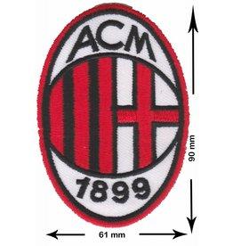 A.C. Mailand A.C. Mailand - A.C. Milan - Associazione Calcio Milan - i Rossoneri (The rot and schwarzs) il Diavolo (The Devil) Casciavit  -  Fußball