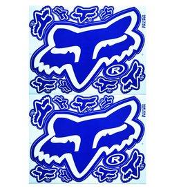 F3 Bögen 2 Sticker Sheets 2x (F3) FOX blue-