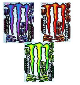 F3 Bögen 4 Sticker Sheets 4x (F3) Energy Rockstar Mix 2