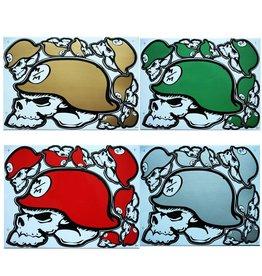 F3 Bögen 4 Sticker Sheets 4x (F3) Metal Mulisha Mix 1 -