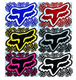 F3 Bögen 6 Sticker Sheets 6x (F3) FOX Mix 2 -