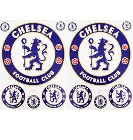 F3 Bögen 2 Aufkleberbögen (F3) Chelsea Football Club - Chelsea London - Soccer UK - Soccer Football - Fußball