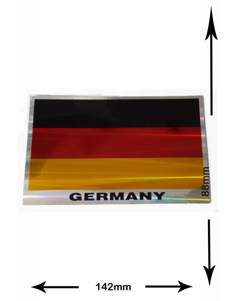 mix deutschland flagge germany flag 2 pieces metal. Black Bedroom Furniture Sets. Home Design Ideas
